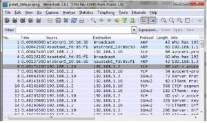Fitur Wireshark 1.8.1