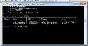 MYSQL7